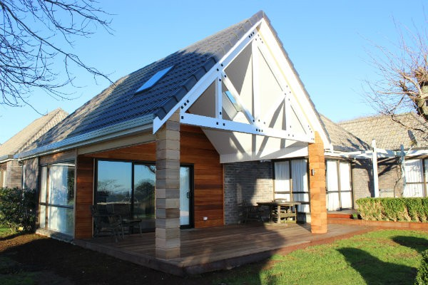 Roof-line Extension to Create Outdoor Living - Smith & Sons